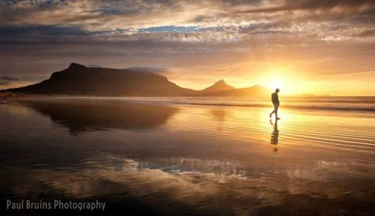 Bloubergstrand and Table Mountain from Paul Bruins Photography